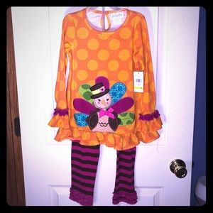 2pc Emily Rose Thanksgiving Outfit size 6 NWT